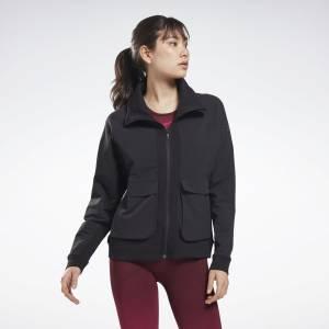 Reebok United By Fitness Women's Training Jacket in Black