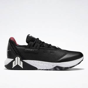 Reebok Men's J.J. IV Cross Training Shoes in Black / White
