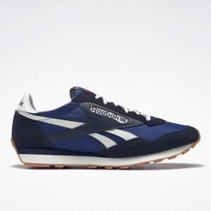 Reebok Unisex AZ II Lifestyle Shoes in Blue / Navy