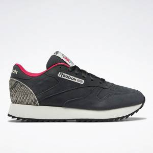 Reebok Classic Leather Ripple Women's Lifestyle Shoes in Grey