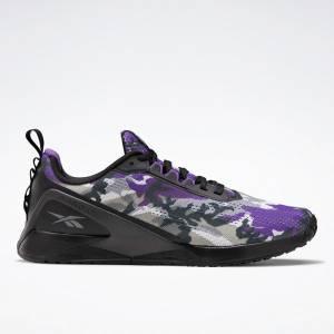 Reebok Unisex Rothco Nano X1 Cross Training Shoes in Purple / Black