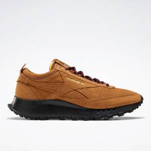 Reebok Unisex SNS Classic Leather Legacy Lifestyle Shoes in Wild Brown
