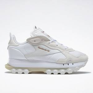 Reebok x Cardi B Classic Leather Women's Lifestyle Shoes in White