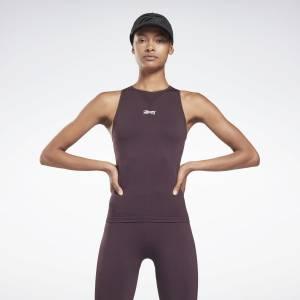 Reebok x Victoria Beckham Women's Training Seamless Tank Top in Purple
