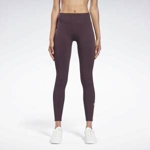 Reebok x Victoria Beckham Women's Training Seamless Leggings in Purple