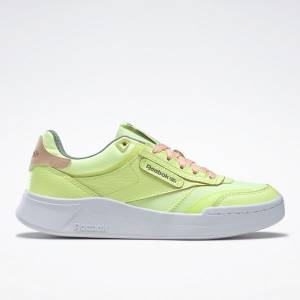 Reebok Club C Legacy Women's Lifestyle Shoes in Energy Glow