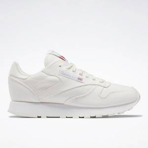 Reebok Men's Classic Leather Grow Lifestyle Shoes in Chalk White
