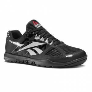 Reebok CrossFit Nano 2.0 Men's Training Shoes in Black / Zinc Grey