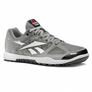 Reebok CrossFit Nano 2.0 Women's Training Shoes in Tin Grey / White / Black / Gravel / Watery Blue