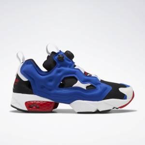 Reebok InstaPump Fury OG Men's Retro Running, Lifestyle Shoes in Black / Blue