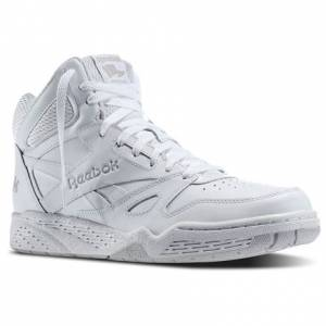 Reebok Royal BB4500 Hi Men's Basketball Shoes in White / Steel