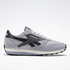 Reebok Unisex Classic Leather AZ Lifestyle Shoes in Grey / Black