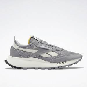 Reebok Unisex Classic Leather Legacy Lifestyle Shoes in Solid Grey