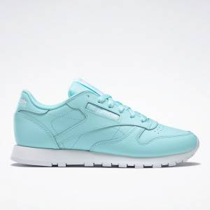 Reebok Classic Leather Women's Lifestyle Shoes in Blue