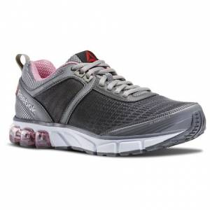 Reebok Jet Dashride 2.0 Women's Running Shoes in Alloy / Tin Grey / Icono Pink / White
