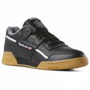 Reebok Men's Casual Shoes Workout Plus in Black