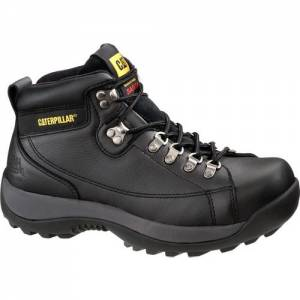 CAT Hydraulic Steel Toe Work Boot - Men - Black