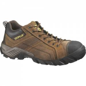 CAT Argon Composite Toe Work Shoe - Men - Dark Brown