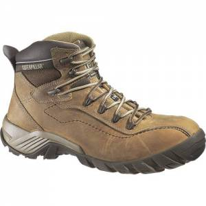 CAT Nitrogen Composite Toe Work Boot - Men - Dark Beige