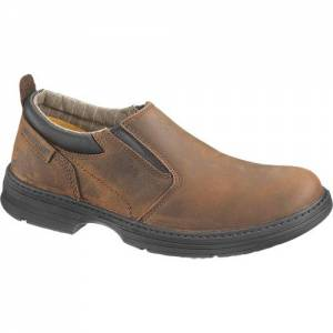 CAT Conclude Steel Toe Work Shoe - Men - Dark Brown