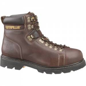 CAT Alaska Techniflex® Steel Toe Work Boot - Men - Brown