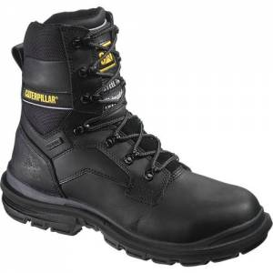 "CAT Flexion Generator 8"" Waterproof Steel Toe Work Boot - Men - Black"