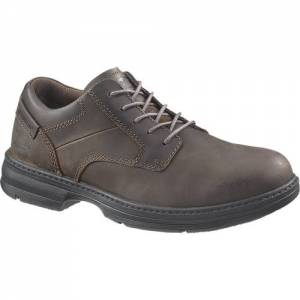 CAT Oversee Steel Toe Work Shoe - Men - Dark Brown