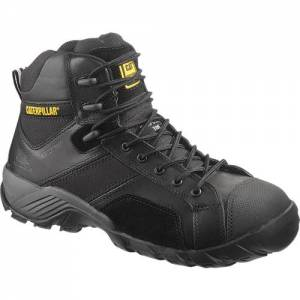 CAT Argon Hi Waterproof Composite Toe Work Boot - Men - Black