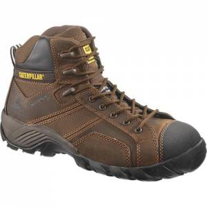 CAT Argon Hi Waterproof Composite Toe Work Boot - Men - Dark Brown