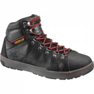 CAT Brode Hi Steel Toe Work Boot - Men - Black