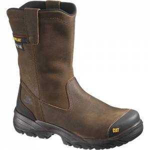 CAT Spur Steel Toe Work Boot - Men - Brown