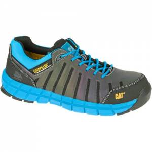 CAT Chromatic Composite Toe Work Shoe - Men - Dark Shadow / Blue