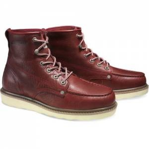 CAT Glenrock Mid Boot - Men - Deep Crimson Red