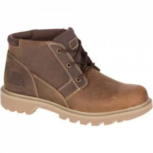 CAT Graft Boot - Men - Dark Beige