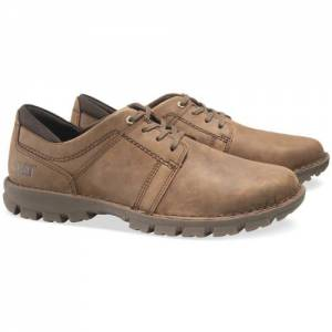 CAT Caden Shoe - Men - Dark Brown