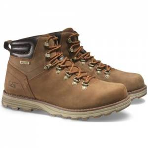CAT Sire Waterproof Boot - Men - Brown Sugar
