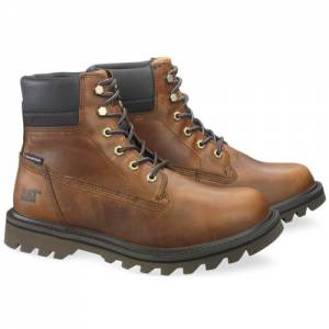 CAT Deplete Waterproof Boot - Men - Brown