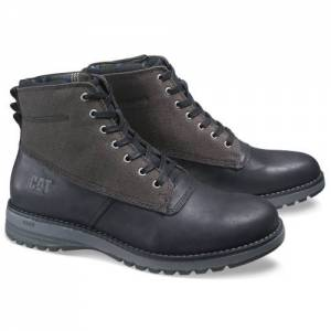 CAT Gil Canvas Waterproof Boot - Men - Black