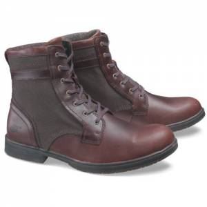 CAT Abe Canvas II Boot - Men - Oxblood