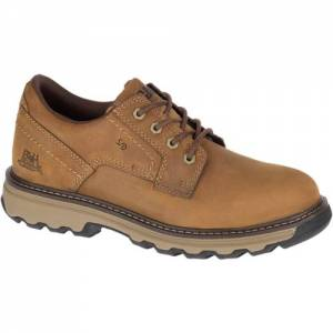 CAT Tyndall Work Shoe - Men - Dark Beige