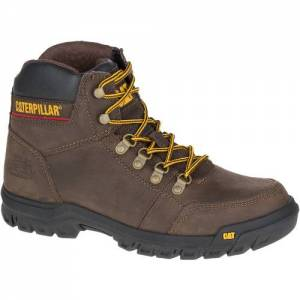 CAT Outline Work Boot - Men - Seal Brown
