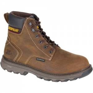 CAT Precision Waterproof Composite Toe Work Boot - Men - Dark Brown