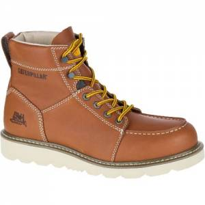 CAT Tradesman Work Boot - Men - Brown