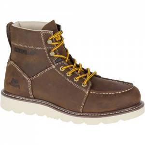 CAT Tradesman Work Boot - Men - Chocolate Brown