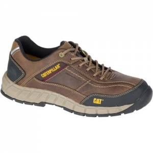 CAT Streamline Leather Work Shoe - Men - Brown