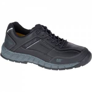 CAT Streamline Leather Work Shoe - Men - Black