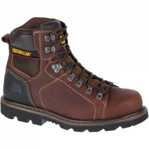CAT Alaska 2.0 Work Boot - Men - Brown