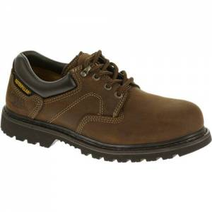 CAT Ridgemont Steel Toe Work Shoe - Men - Dark Brown
