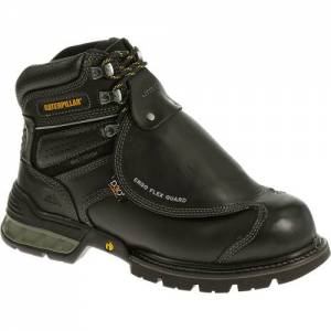 CAT Ergo Flexguard Steel Toe Work Boot - Men - Black