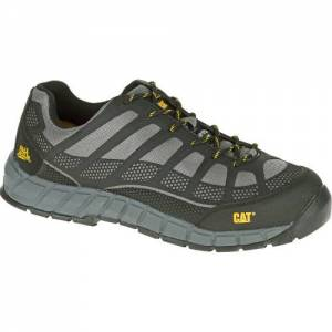 CAT Streamline Composite Toe Work Shoe - Men - Charcoal / Black